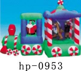 Gonflable noël père noël bonhomme de neige cerf décoration de noël pour la maison enfants jouets gonflables jouets de noël - 6