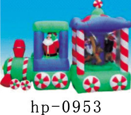 Inflatable Christmas Santa Claus Snowman Deer Christmas Decoration for Home Children Toys Inflatable Christmas Toys - 6