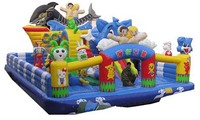 NEW Inflatable Fun City Inflatable castle, inflatable park, inflatable slide
