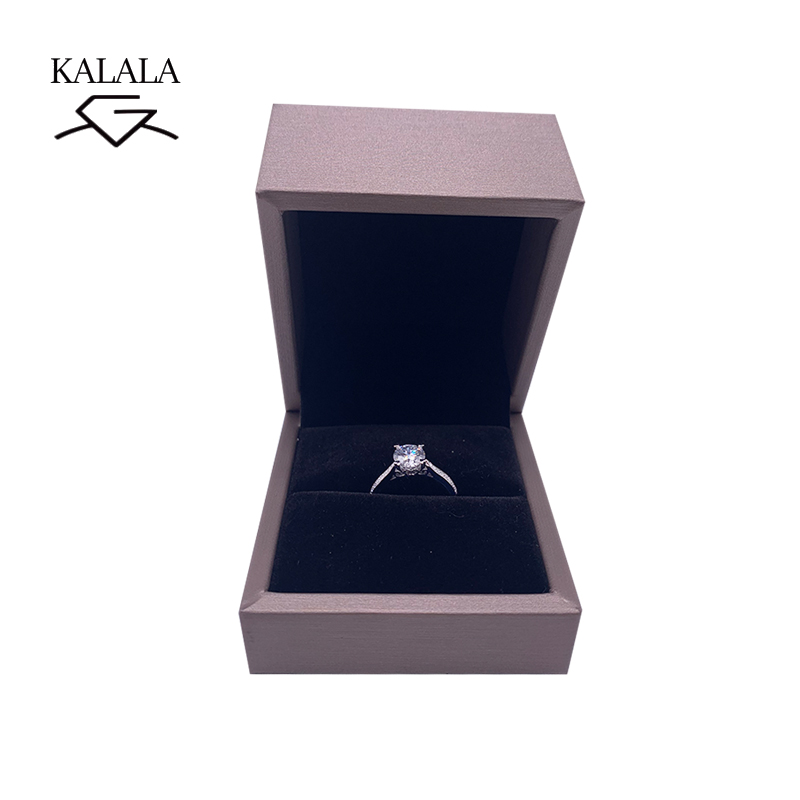 Image 3 - 925 sterling silver ring 1ct 2ct 3ct Luxury Diamond jewelry Moissanite ring Single row drill Wedding Party Anniversary Ring-in Rings from Jewelry & Accessories