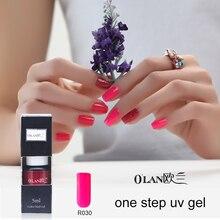 Olan long lasting 1 pieces/lot 3 in 1 Set uv gel nail polish  lacquer for nail Gel nails set gel varnish uv color soak off