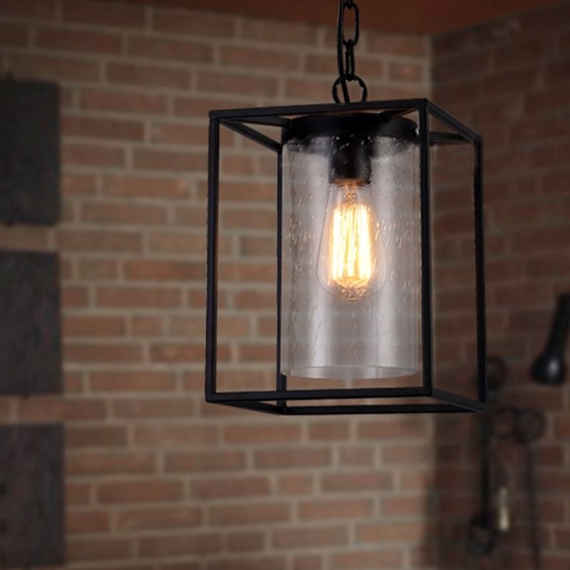 4 Color American Country Lighting Industrial Edison Lamp