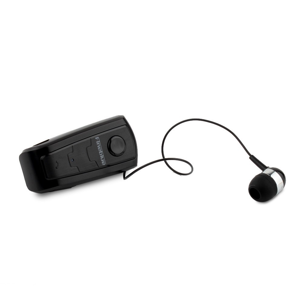 FineBlue F910 Wireless Bluetooth Earphone Auriculares Retractable Remind Vibration Alert Wear Clip Hands Free Driver Earphones 9
