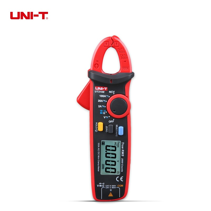 Original UNI-T Digital Clamp Meter True RMS VFC NCV Current Voltage Capacitance Tester 100Amp 600V LCD Clamp Digital Multimeter digital clamp meter appa a3dr with true rms reading 1pc 100