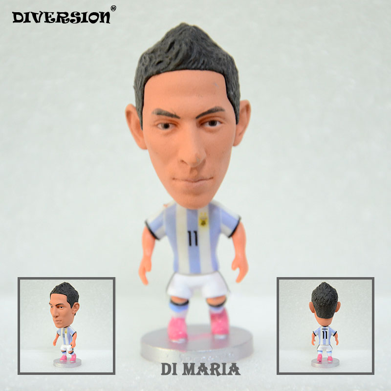 Soccer Player Star 11# DI MARIA (ARG-2018) 2.5 Toy Doll Figure soccerwe