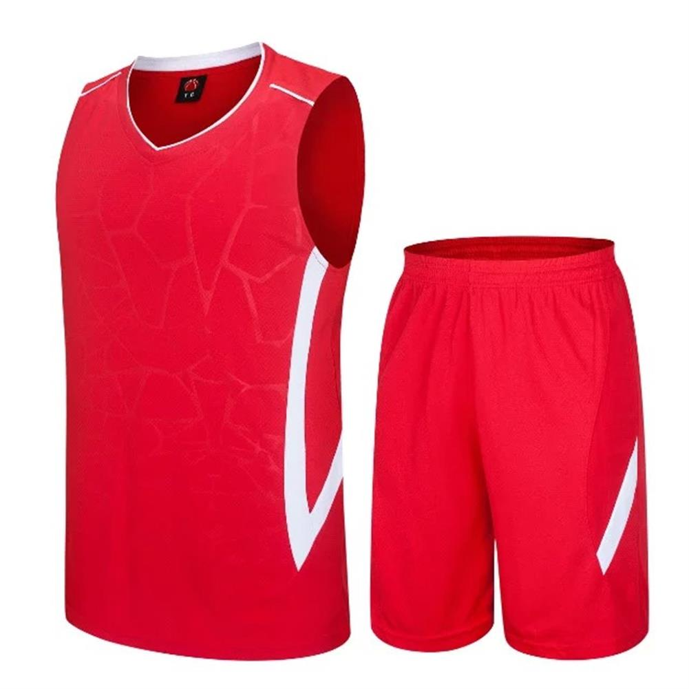 ITFABS 2017 SITFABS Summer Basketball Sports Uniforms <font><b>Suit</b></font> <font><b>Men</b></font> Gym Sleeveless Basketball Jerseys+ <font><b>Shorts</b></font> Pants 2Pcs/set image