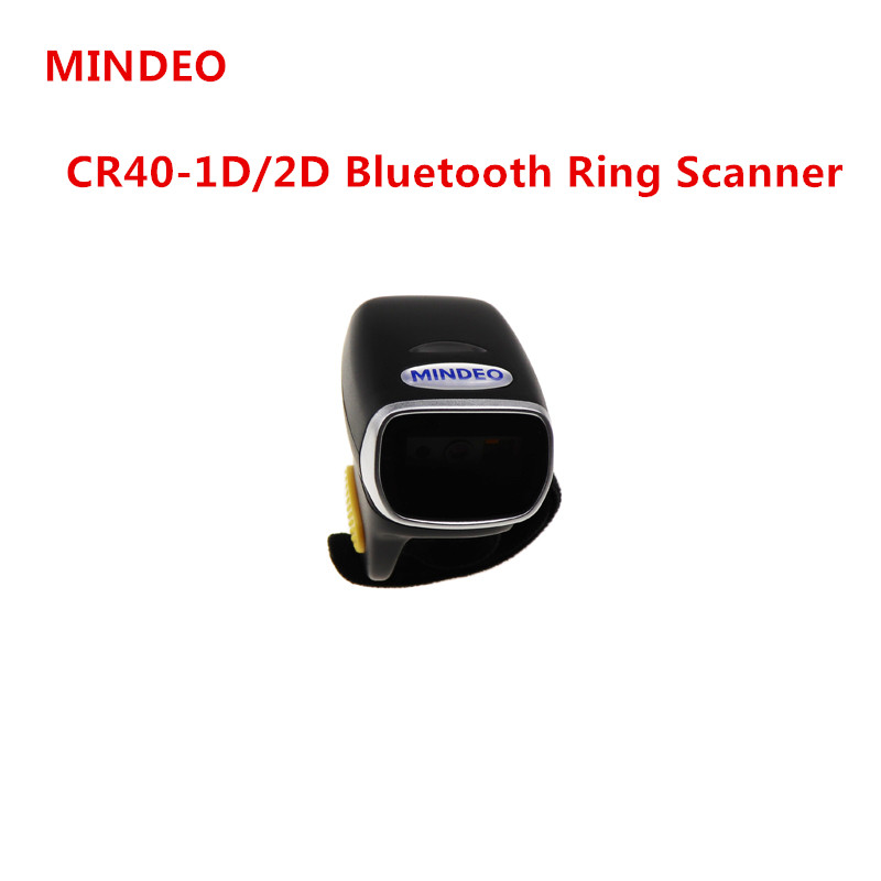 Scanner Bluetooth-Ring Screens Barcode And CR40-2D From-Paper Electronic
