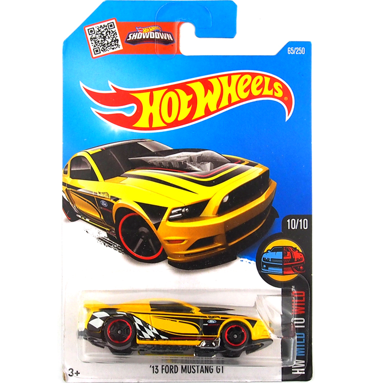 HotWheels Die-casts HW Gentle to Wild: '13 FD MUSTANG GT/Toy/Mannequin Automobile/2016#65/250