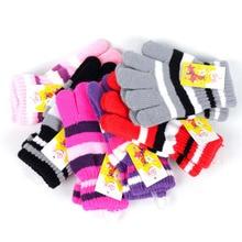 Children Girls Boys font b Kids b font Magic Stretchy Mittens Knitted font b Gloves b