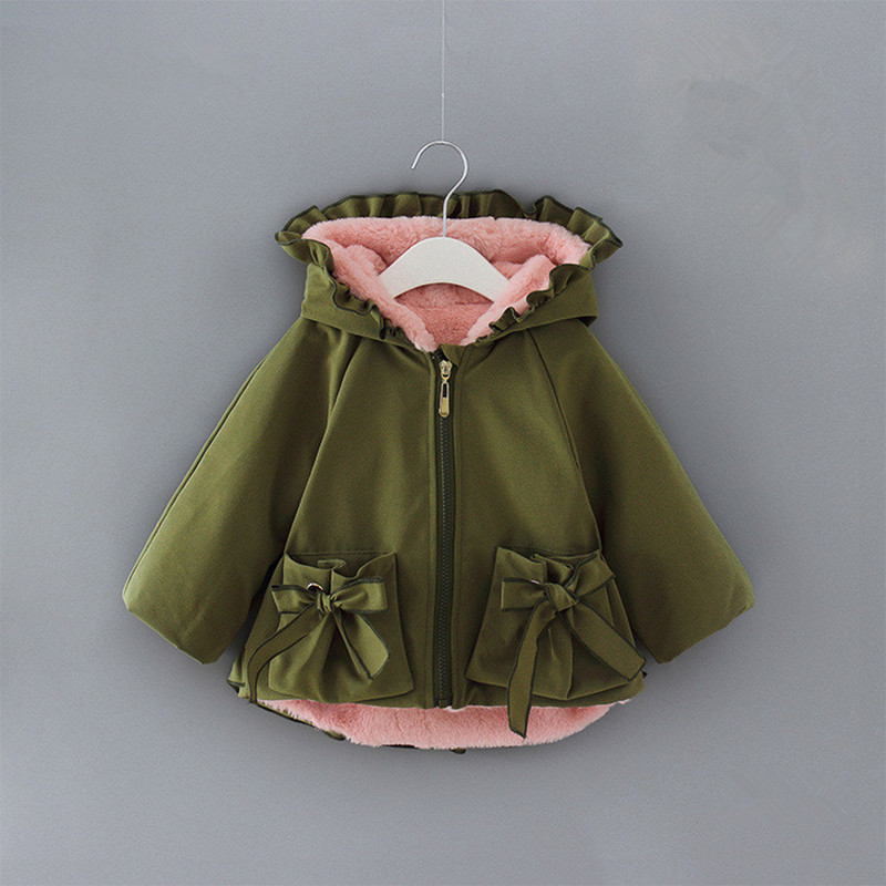 Baby Girls Coat Winter Hooded Kids Clothing Children Parkas Kids Thicken Cotton Outerwear for Girls Clothes 0-2YBaby Girls Coat Winter Hooded Kids Clothing Children Parkas Kids Thicken Cotton Outerwear for Girls Clothes 0-2Y