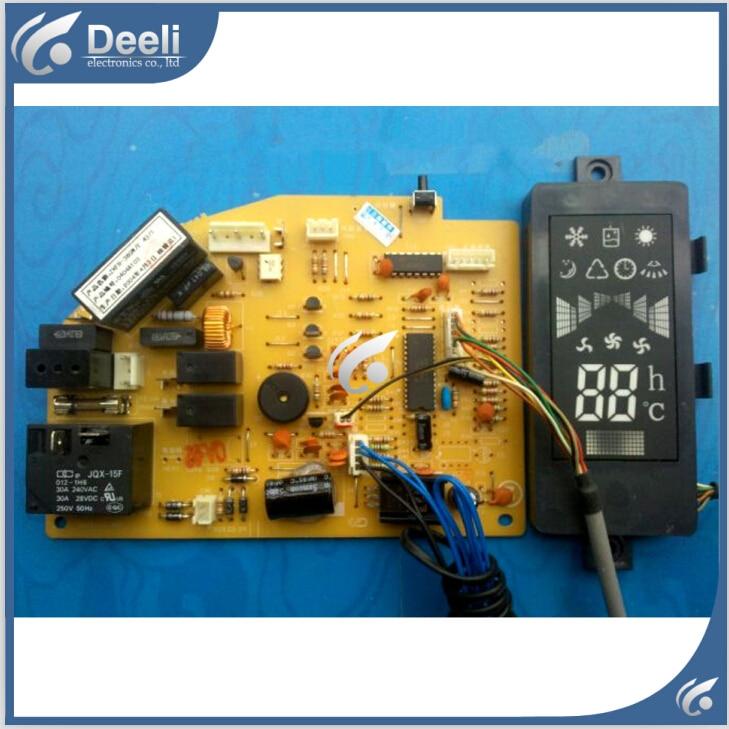 купить 95% new good working for air conditioner board pc board ZKFR-36GW/E 43/1 T807F134DCP221-Z display board 2pcs/set по цене 3836.42 рублей