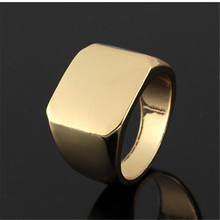 1 PC Hip Hop Series Fashion Creative Glossy Ring Mens Rings Street Accessories Three Colors Optional