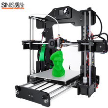 2018 Newest 3D Printer Upgrade i3 3D Printer DIY Kit with Smart Leveling High Precision Cheap Laser Engraving 3D Printers 1 44 inch lcd display 3d printer 2 in 1 laser engraving machine pla auto change material intelligent leveling diy kit 3d printer