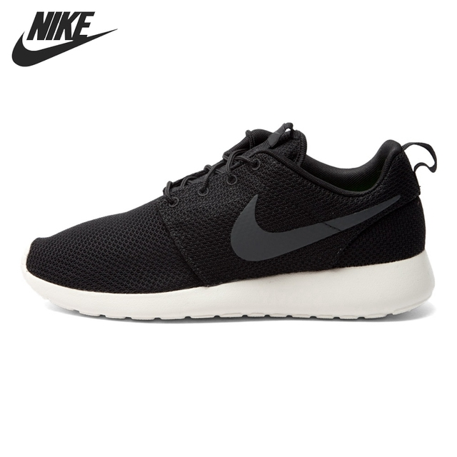 nike roshe run heren zwart