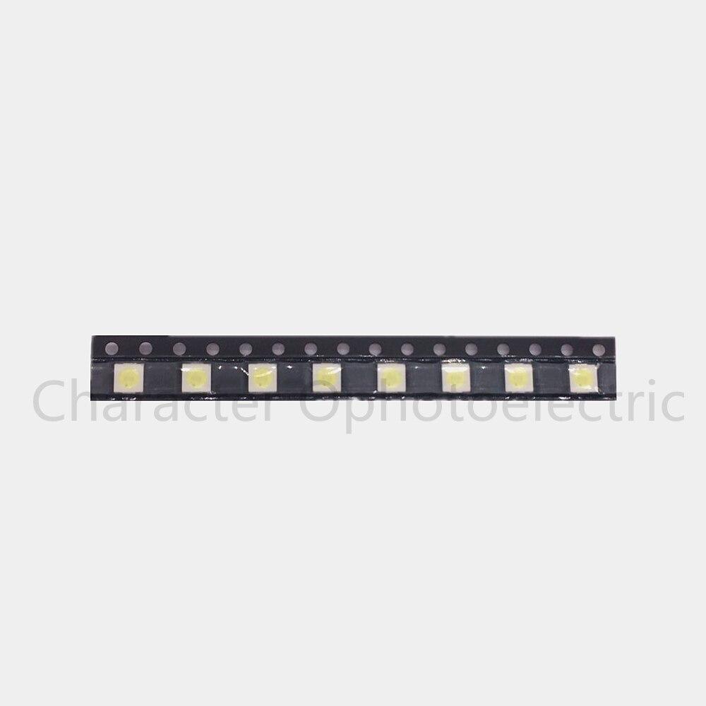 50PCS/Lot 1W /<font><b>2W</b></font> <font><b>3535</b></font> 3V /<font><b>6V</b></font> SMD <font><b>LED</b></font> Beads Cold white 90Lm High power for LCD/TV Backlight