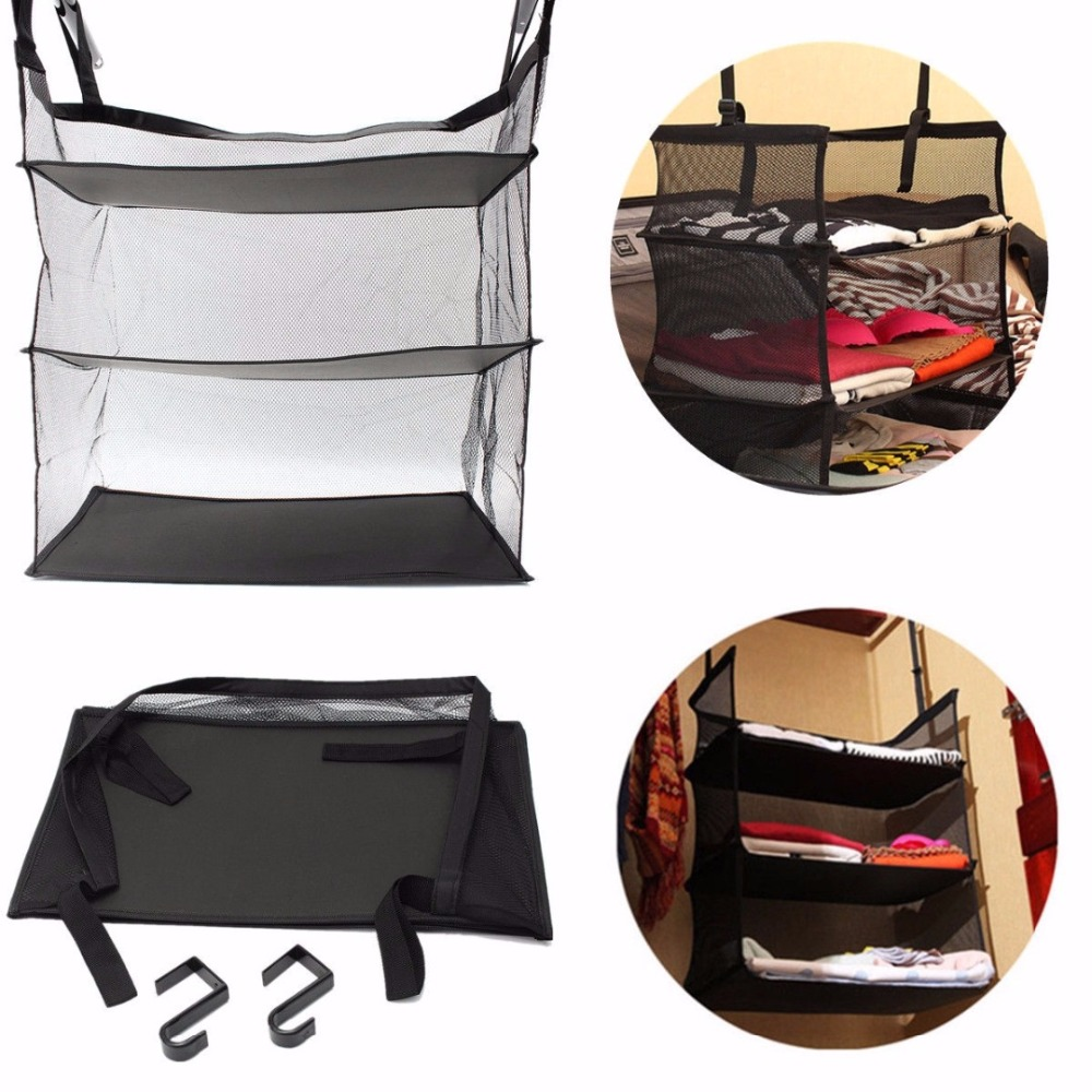 JX-LCLYL-3-Tier-Collapsible-Hanging-Organizer-Closet-Luggage-Clothes-Bag-Shelf-Storage (2)