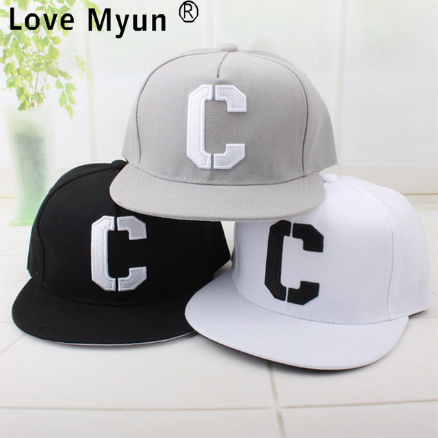 Hot brand Letter C embroidered baseball cap fitted hat Casual fashion cap  gorras hip hop snapback hats wash cap for men women 7e1726bb5209