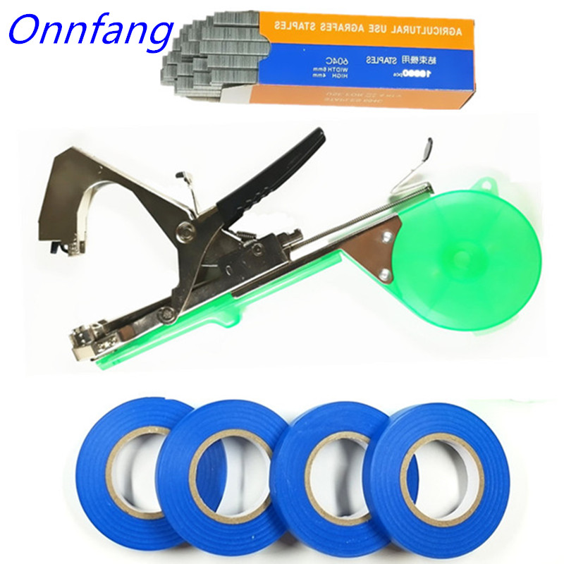 Garden Tools Plant Tying Tapetool Machine Tapener Branch Hand Tying Machine Tapener Packing Vegetable Stem Strapping