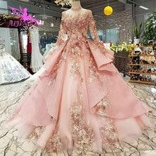 AIJINGYU Bruiloft Jurk Zwart Jurken Plus Size Bruid Indonesië Custom In Dubai Gown Twee Stukken Goedkope Bridal Jurken