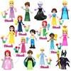 8Pcs Fairy Tale Princess Girl Model Building Doll Figures Bricks Blocks Kid Friends Children Toys Compatible With Lego Friends