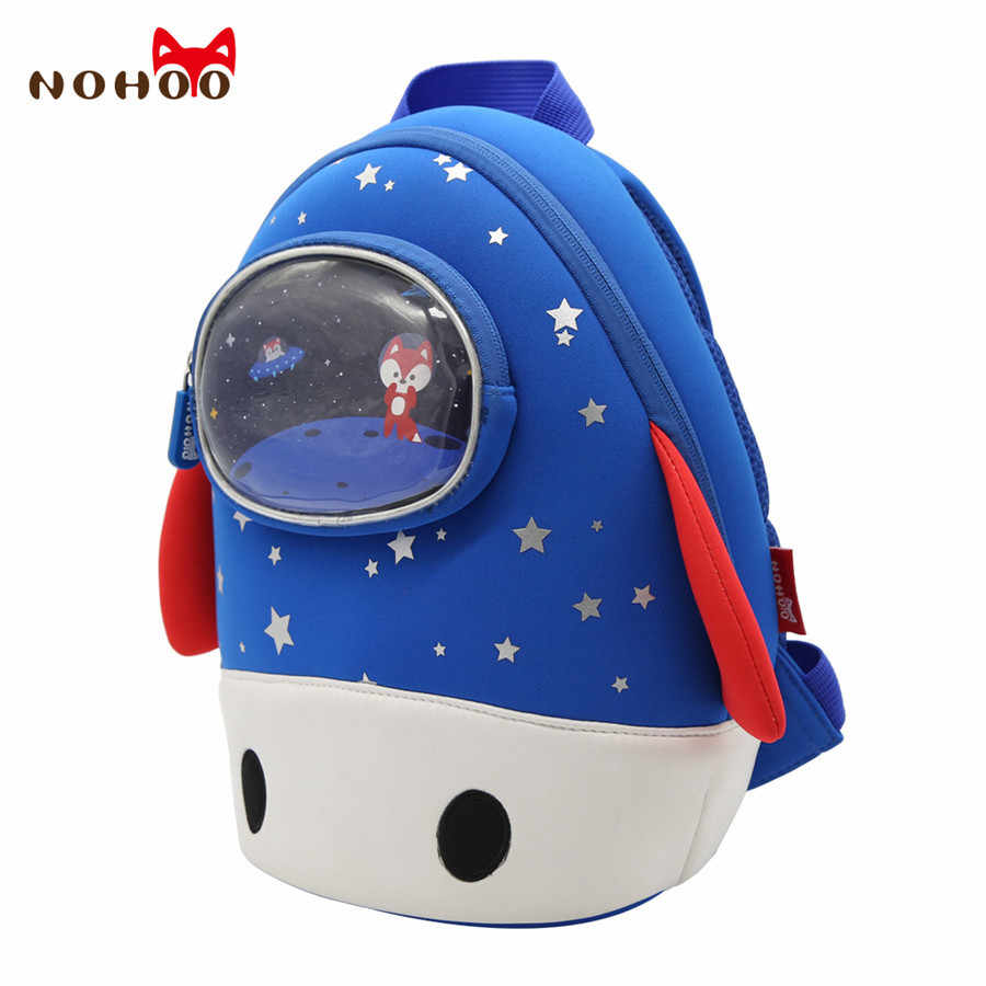 ... NOHOO Toddler Kids Backpack 3D Rocket Space Cartoon Pre School Bags  Children School Backpacks Kindergarten Kids ...