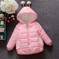 Baby Girls Clothes,Children Winter long sleeve Warm Jacke&Outwear,Girls cute Cotton-padded Outwear Baby Girls Coat  for 2-7 yrs