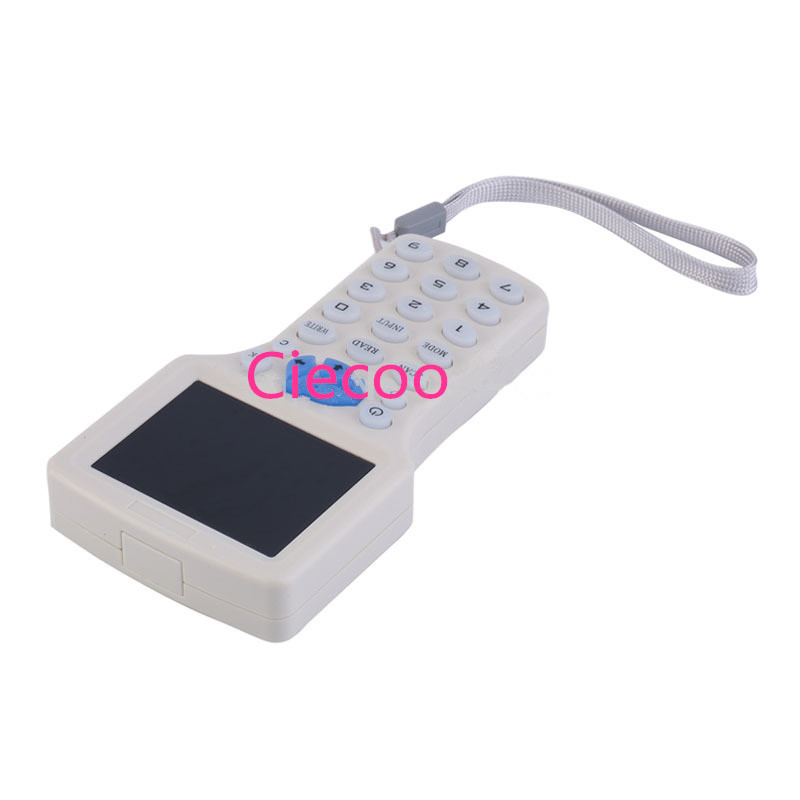 Free shipping Frequency Copy Encrypted NFC Smart Card RFID Copier ID/IC Reader Writer with USB Cable White
