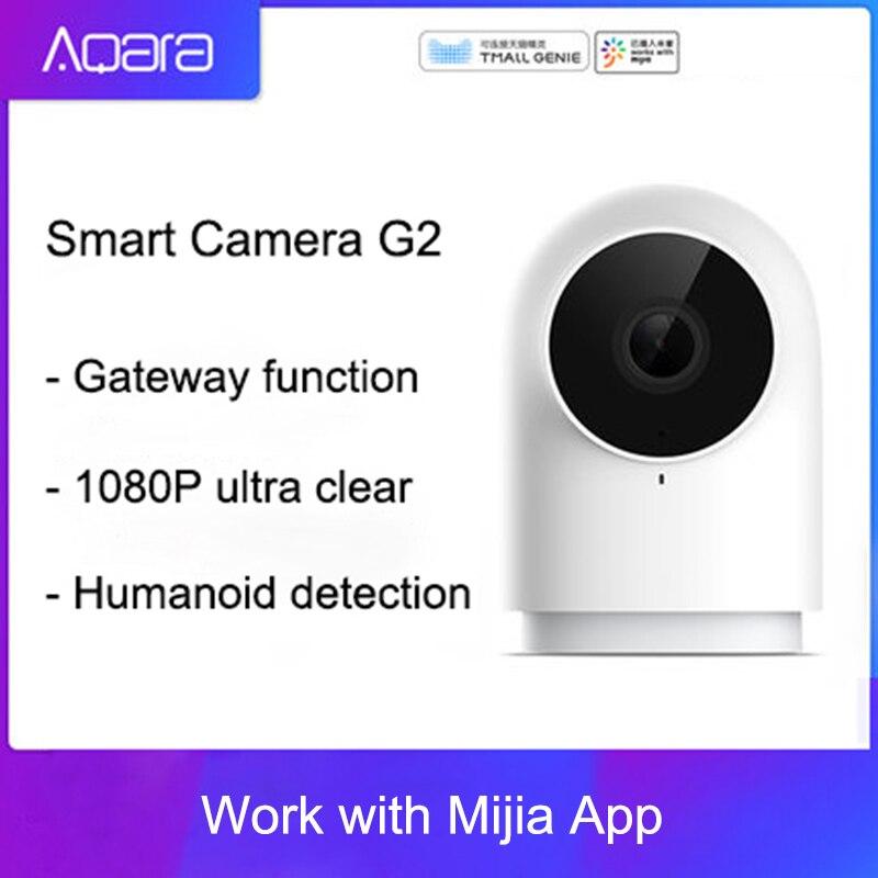 ¡Novedad! Cámara inteligente Aqara G2 1080P Gateway Edition Zigbee, dispositivos inteligentes de enlace IP, Wifi, Nube inalámbrica, seguridad en el hogar UE/WiFi inteligente pared luz Dimmer interruptor regulador de vida inteligente/Tuya Control remoto APP funciona con Alexa de Amazon y Google