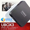 UNBLOCK UBTV Ubox ubox3 Black TV Box 1G 8G IPTV Gen.3 S900 Pro 4K 32gb Smart TV Box HD Network Media Player WiFi Android