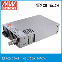 Original MEAN WELL RSP 2400 48 2400W 50A 48V Voltage Trimmable Meanwell Power Supply 48V 2400W