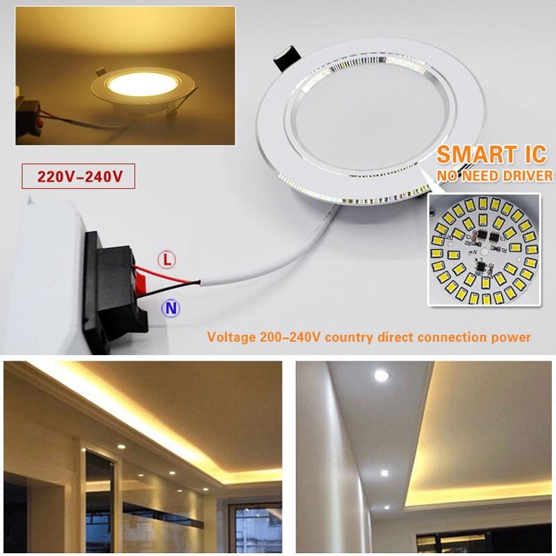 10 stück viel led downlight lampe 3 watt 5 watt 7 watt 9 watt 12 - Innenbeleuchtung - Foto 6