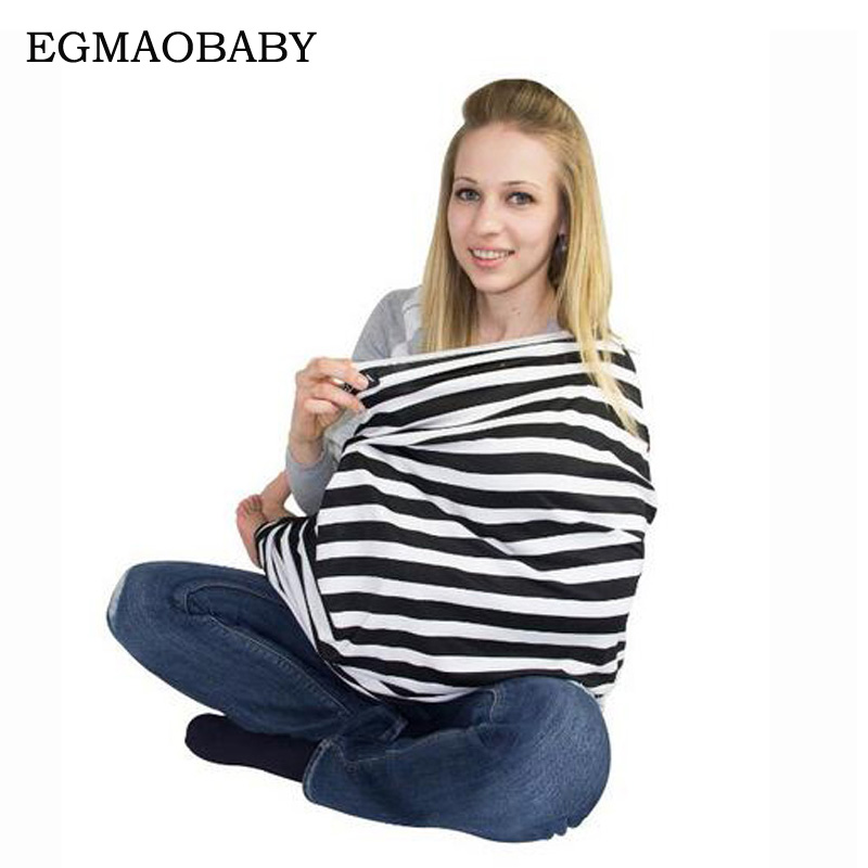 Multi-function newborn nurse's baby nurse's cover woman breast covering breast milk baby blanket baby elastic seat stripe 10