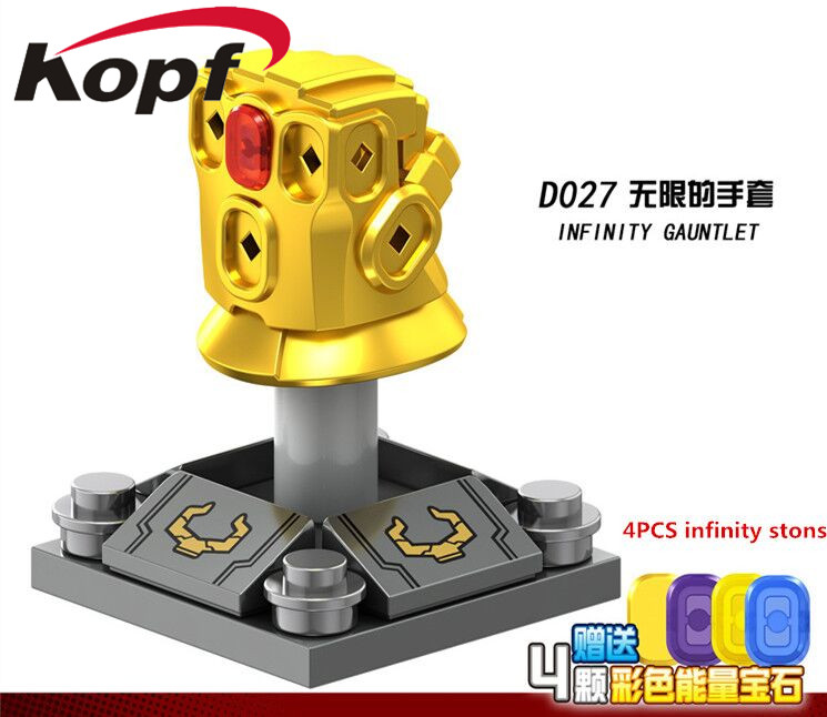 Single Sale Super Heroes Infinity Gauntlet With Stones Vision Spiderman Thanos Dolls Building Blocks Children Gift Toys D027 single sale super heroes infinity war thanos captain america spiderman vision building blocks bricks children toys gift kf427