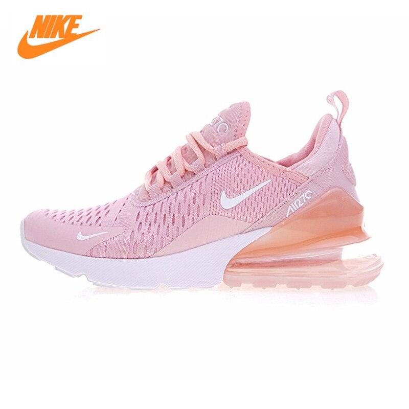 ... Nike Air Max 270 Для женщин Кроссовки, открытый Спортивная обувь Обувь,  желтый розовый, ... 2d75ecebd7b
