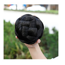 HiDoLA Small Size Knitted Hair Braided Chignon Synthetic Bun Donut Roller Hairpieces Haar Accessories