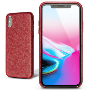 Image 2 - QIALINO Fashion Ultra Thin Back Case for iPhone X/XS/XR Luxury Genuine Leather Phone Sleeve Cover for iPhone XS Max 6.5 inches