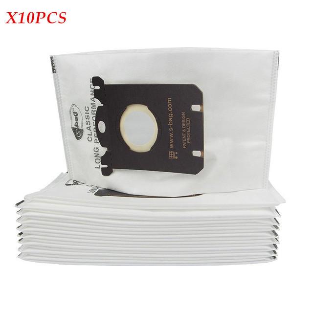 US $11 99 20% OFF|10 pcs/lot Vacuum Cleaner filter Bags Dust Bag for  Electrolux philips Vacuum Cleaner parts S BAG for Electrolux Vacuum  Cleaner-in