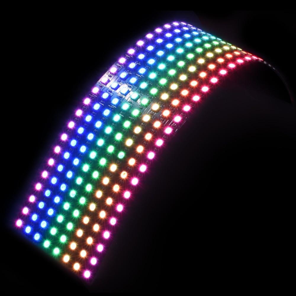 8x32cm sk6812 pixel einzeln ansteuerbare led licht mit. Black Bedroom Furniture Sets. Home Design Ideas