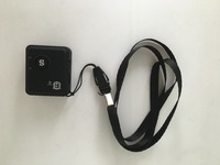 Mini oculta GSM personal tracker, RF-V6 LBS GPRS En tiempo Real Del Perseguidor + con google mapas de seguimiento de localización, sistema de seguimiento de aplicaciones