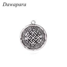 Dawapara Svarozhich Russian Slavic Coin Pendants Amulet and Talisman Necklaces Accessories Pagan Metal Tags Jewelry for Men