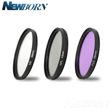 49mm UV Filter UV+CPL+FLD Lens Filter Kit For Sony NEX F3 NEX 3C NEX 6 NEX 5R NEX 5T A5100 A6000 With E 55 210mm or E 18 55mm