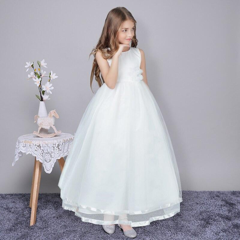 2017 sommer Blume Teen Mädchen Hochzeit Festzug Partei Kleider ...
