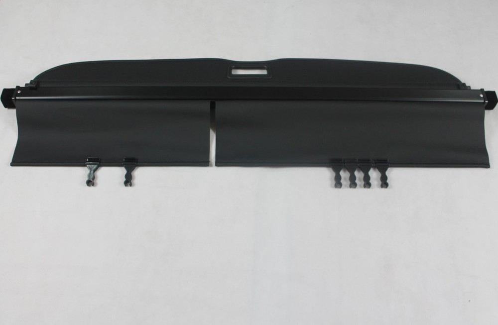 2009 2010 2011 2012 Subaru Forester Fabric Rear Trunk Security Shield Cargo Cover Black car rear trunk security shield shade cargo cover for toyota highlander 2009 2010 2011 2012 2013 2014 2015 2016 2017 black beige