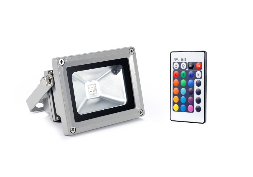 Floodlights Hospitable Wholesale Waterproof 10w/20w/30w/50w Led Flood Light Floodlight Warm/cool White/rgb/r/g/b/y Outdoor Lamp Lighting Lights & Lighting