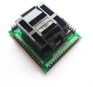 Image 3 - TQFP64 LQFP64 QFP64 socket adaptateur programmeur IC puce test seat STM32 FPQ 64 0.5 06 QFP64 blocs de gravure 0.5m