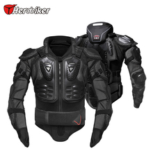 HEROBIKER Motorcycle Armor Protection Body Protector Jacket Motocross Motorbike Jacket Motorcycle Jackets with Neck Protector