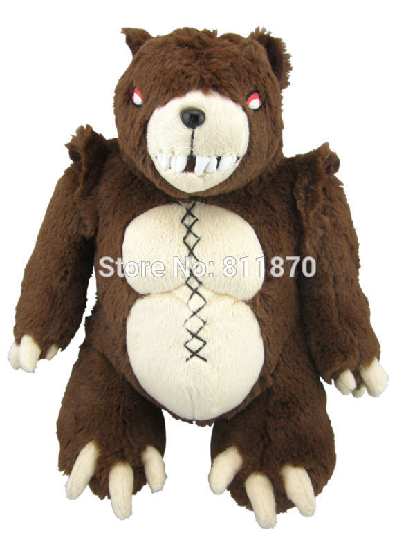Free Shipping Cosplay Darkchylde Annie's Bear Tibbers 35cm/13.8'' Lovely Cute Plush Dools Stuffed Toys Soft Dolls