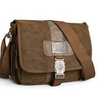 NEW Retro Canvas bag men's shoulder bags leisure wear resistant cross messenger bag Unisex casual crossbody Bags Leisure Package