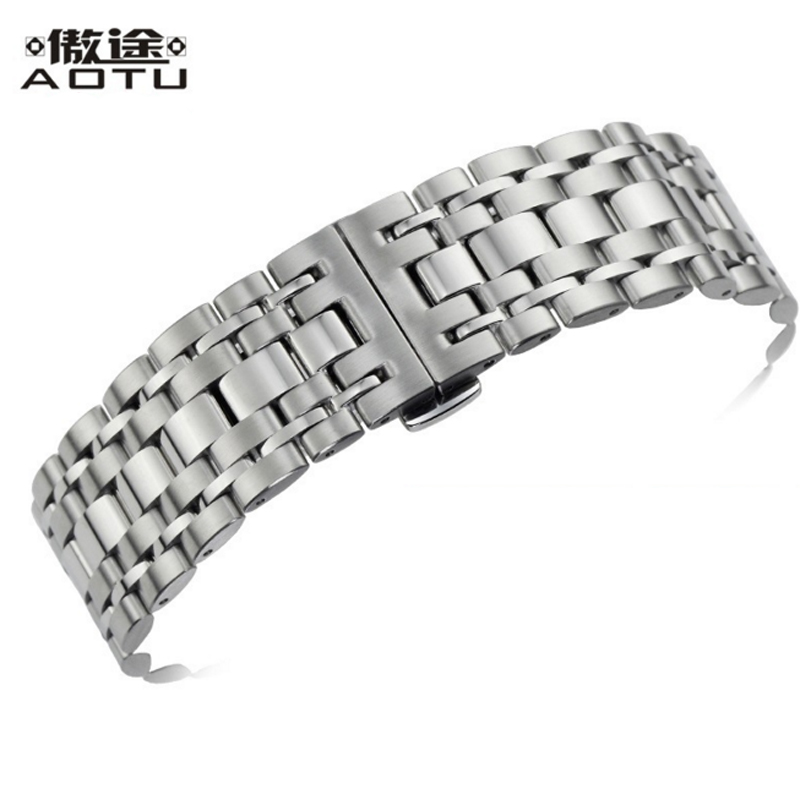 20MM Stainless Steel Watchbands For Tissot 1853 T-LORD Series T059 Watch Strap Men Top Quality Watch Band Clock Bracelet Belt 20mm men s canvas watchbands for tissot t095 10 colors watch strap for male nylon watch band for t095 bracelet belt watchstrap