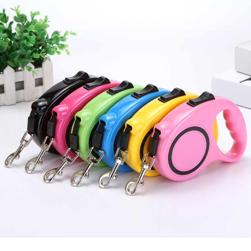 New Free Shipping Pet Dog Leash Automatic retractable Dogs Leads Chain dog harness pet products ZL137